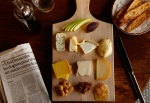 Postcard Memento: Wine & Cheese at the Le Diplomate in Washington D.C.